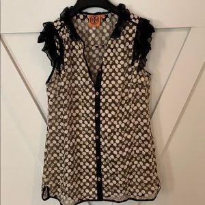 Tory Burch mesh elegant blouse